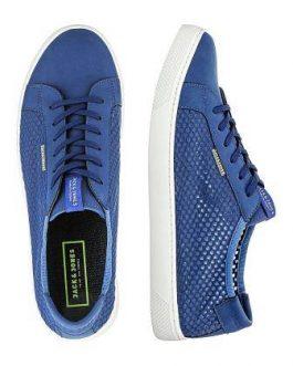 12107997 JJSABLE MESH SNEAKER LIMOGES BLUE