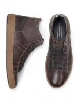 12140787 JFWDUCAN LEATHER PIRATE BLACK STS