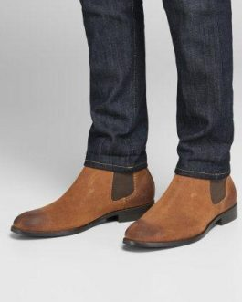 12159604 BOOT JFWPETER WAXED SUEDE POTING SOIL NOOS