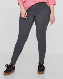 21007399 JEANS QUEEN MASJA NW SLIM COLORED