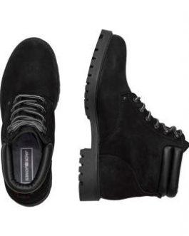 12142352 Jfwstoke Nubuck Boot Mono Black Noos