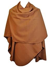 15121874 ONLSIGRID WEAVED PONCHO ACC CAMEL