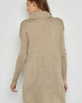 15139003  KNIT HAYLEY LS LONG  PULL SILEVER MINKW. WHITE M